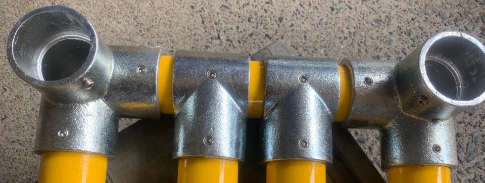 2.単管パイプで簡単に作れるDIYベンチ [#2]ベンチの要!座る部分の組立♪