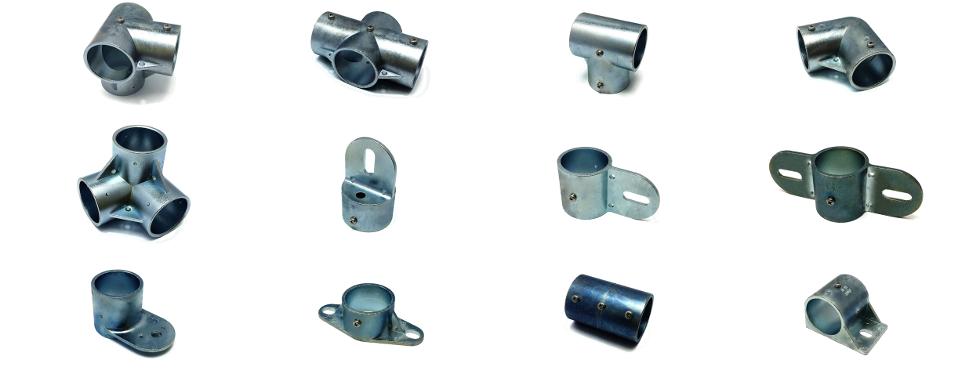 単管パイプ用接続金具「かん太」 接手金具画像一覧【亜鉛合金タイプ】